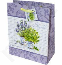 Dovanų maišelis Basil&Lavender Medium