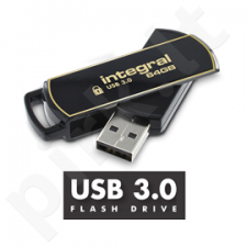 Integral flashdrive 8GB AES-256 bit SecureLock 360 secure USB3.0