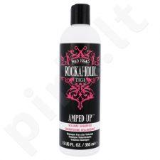 Tigi Rockaholic Amped Up apimties suteikiantis plaukų šampūnass, kosmetika moterims, 355ml