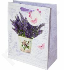 Dovanų maišelis Flowering Lavender Medium