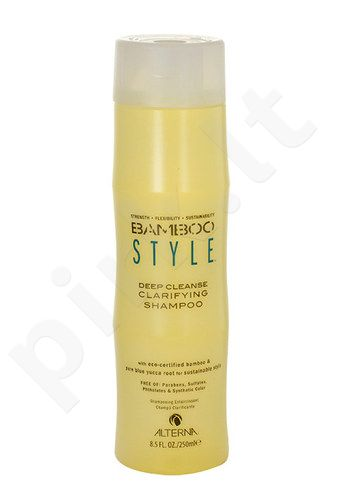 Alterna Bamboo Style Deep Cleanse Clarifying šampūnas, kosmetika moterims, 250ml