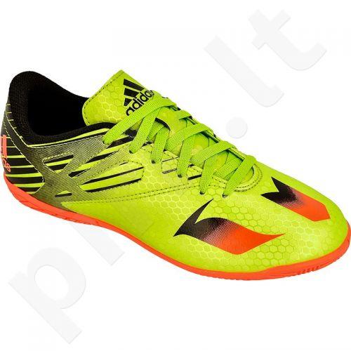 Futbolo bateliai Adidas  Messi 15.4 IN Jr S74702
