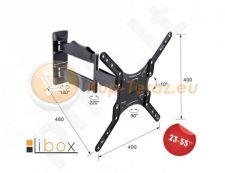 TV wallmount Libox BARCELONA LB-220 | 23''-55'', VESA 400x400mm, 35 kg, vertical