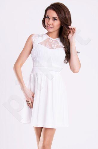 Emamoda suknelė - balta 12001-4