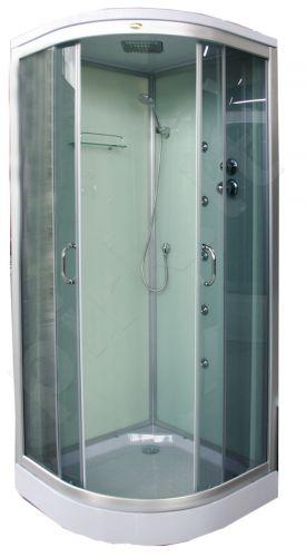 Masažinė dušo kabina K890 90x90 grey