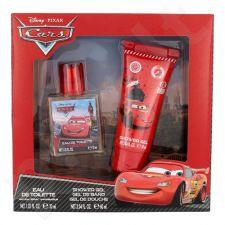 Disney Cars rinkinys moterims, (EDT 30 ml + dušo želė 60 ml)