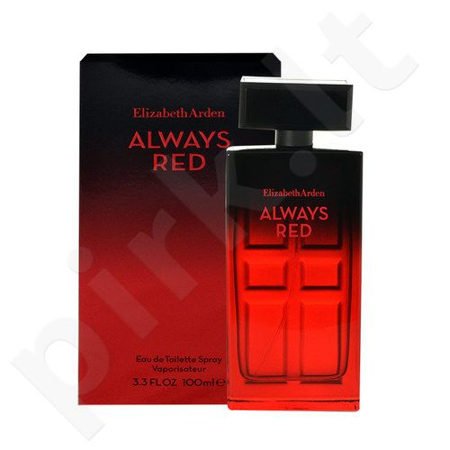 Elizabeth Arden Always Red, EDT moterims, 100ml