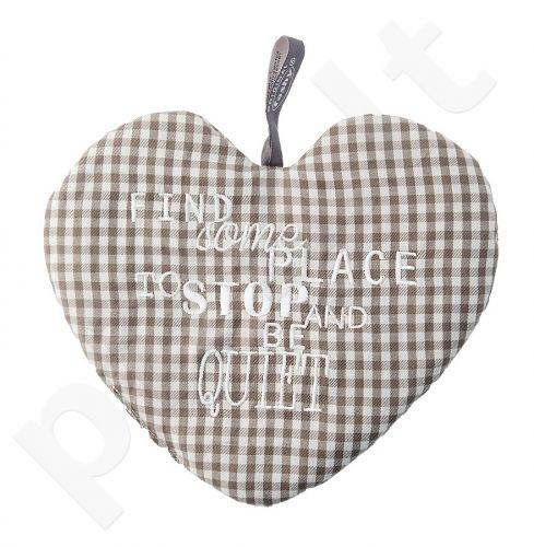 Šildyklė vyšnių kauliukų užpildu 63501 HEART18x20
