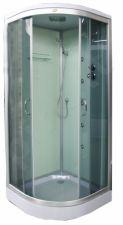 Masažinė dušo kabina K890 100x100 grey