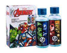 Marvel Avengers, rinkinys dušo želė vaikams, (dušo želė 100 ml + šampūnas 100 ml)