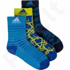 Kojinės Adidas Graphic Junior 3 poros AB2266