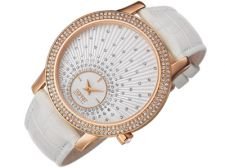 Esprit EL101872F04 Anatole Rose Gold White moteriškas laikrodis
