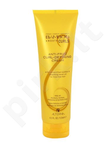 Alterna Bamboo Smooth Curls Anti-Frizz Curl-Defining kremas, kosmetika moterims, 133ml