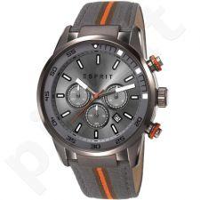 Esprit ES108021001 Alaric Fabric Grey vyriškas laikrodis-chronometras