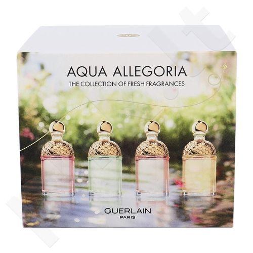 Guerlain Mini Set rinkinys moterims, (4 x 7,5ml Aqua Allegoria (Limon Verde, Mandarine Basilic, Rosa Pop, Pera Granita))