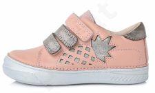 Auliniai D.D. step Šviesiai rožiniai batai 25-30 d. 040433m
