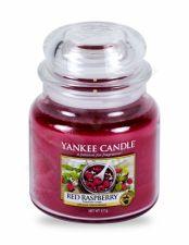 Yankee Candle Red Raspberry, aromatizuota žvakė moterims ir vyrams, 411g