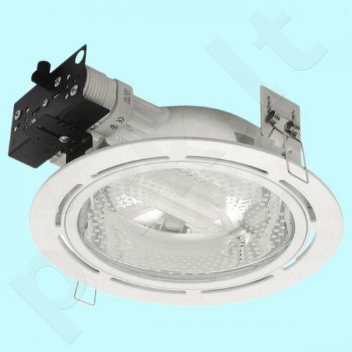 Downlight tipo šviestuvas DLP-100-WH ASTON