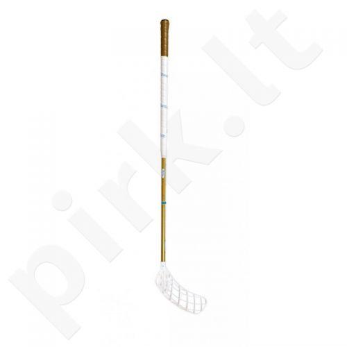 Grindų riedulio lazda Realstick Caviar Gold 100cm kairė