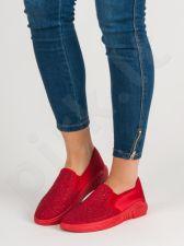 SHELOVET Tekstiliniai batai Su kristalais
