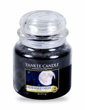 Yankee Candle Midsummer´s Night, aromatizuota žvakė moterims ir vyrams, 411g
