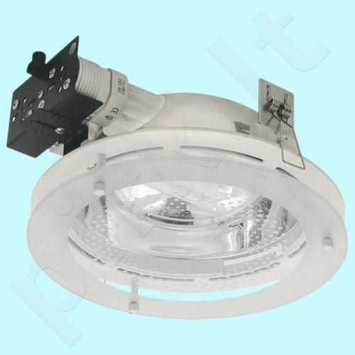Downlight tipo šviestuvas DLP-100G-WH SLOT
