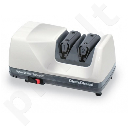 Chef`sChoice M312 Knife sharpener, 100% diamond abrasives in both stages,  2 Stage, Electric