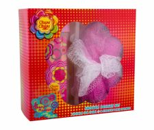 Chupa Chups Strawberry Dream, rinkinys dušo želė vaikams, (dušo želė 250 ml + Sponge)