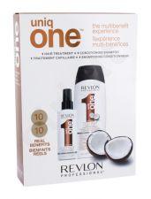 Revlon Professional Coconut, Uniq One, rinkinys plaukų kaukė moterims, (plaukų kaukė 150 ml + šampūnas 300 ml)