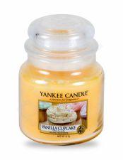 Yankee Candle Vanilla Cupcake, aromatizuota žvakė moterims ir vyrams, 411g