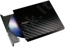 Išorinis DRW Asus SDRW-08D2S-U, USB, Šifravimas, Juodas, Retail