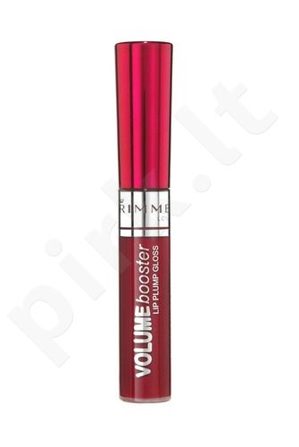Rimmel London Volume Booster Lip Plumping Gloss putlinamasis lūpų blizgis, 6ml, kosmetika moterims (080 bespalvis )