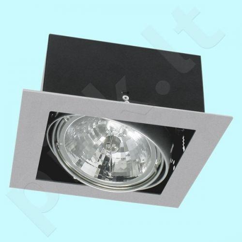 Downlight tipo šviestuvas DLP-150-GR MATEO