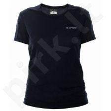 Marškinėliai bėgimui  HI-TEC Lady Viggo W juoda