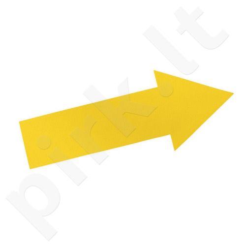 Grindų žymeklis STRĖLĖ yellow