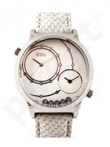 Moteriškas laikrodis Storm Sabrina White