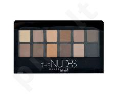 Maybelline The Nudes akių šešėliai Palette, kosmetika moterims, 9,6g