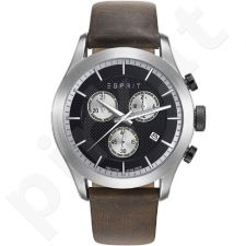 Esprit ES108411001 Matthew Dark Brown vyriškas laikrodis-chronometras