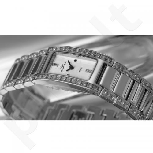 Moteriškas laikrodis RUBICON RN10B79 LS WH