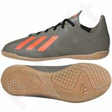Sportiniai bateliai  pilkarskie adidas X 19.4 IN Jr EF8379