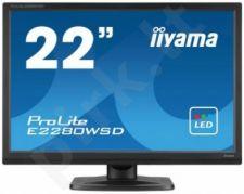LCD LED 22'' Prolite E2280WSD-B1 Full HD, 5ms, DVI, speakers