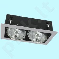 Downlight tipo šviestuvas DLP-250-GR MATEO