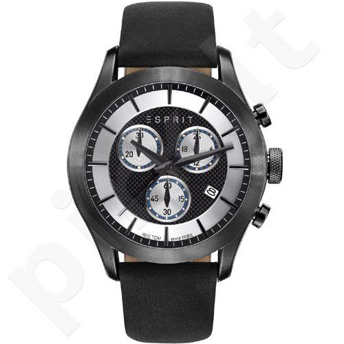 Esprit ES108411002 Matthew Black vyriškas laikrodis-chronometras