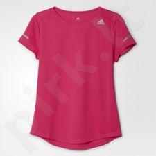 Marškinėliai bėgimui  Adidas Sequencials Run Tee W AI7968