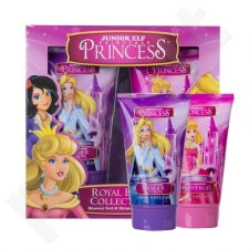Disney Princess Royal Bath Collection rinkinys vaikams, (dušo želė Cinderella 150 ml + kūno losjonas Sleeping Beauty 150 ml)