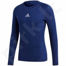 Marškinėliai termoaktyvūs Adidas Alphaskin Sport LS Tee M CW9489