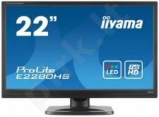 LCD LED 21.5'' Prolite E2280HS-B1 Full HD, 5ms, DVI, HDMI, speakers