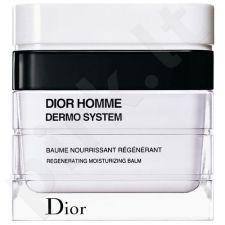 Christian Dior Homme Dermo System Regenerating drėkinamasis balzamas veido odai, 50ml, kosmetika vyrams