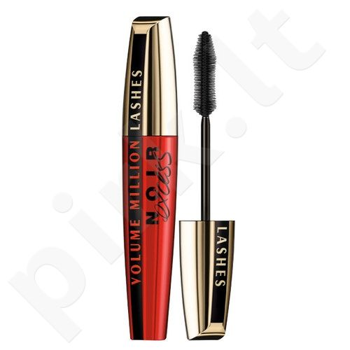 L´Oreal Paris blakstienų tušas Volume Million Lashes Noir Excess, kosmetika moterims, 10ml, (Extra Black)