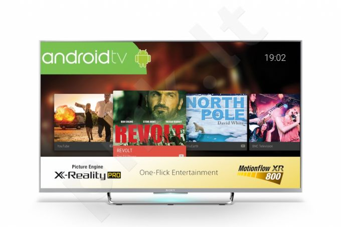Televizorius SONY KDL-50W756CSAEP Android TV